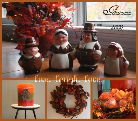 autumn deco collage